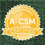Advanced Scrum Master - A-CSM badge