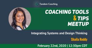 Coaching Tools & Tips - Shaila Reddy